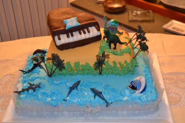 Torta A Due Piani Per Una Festa Dei 18 Anni