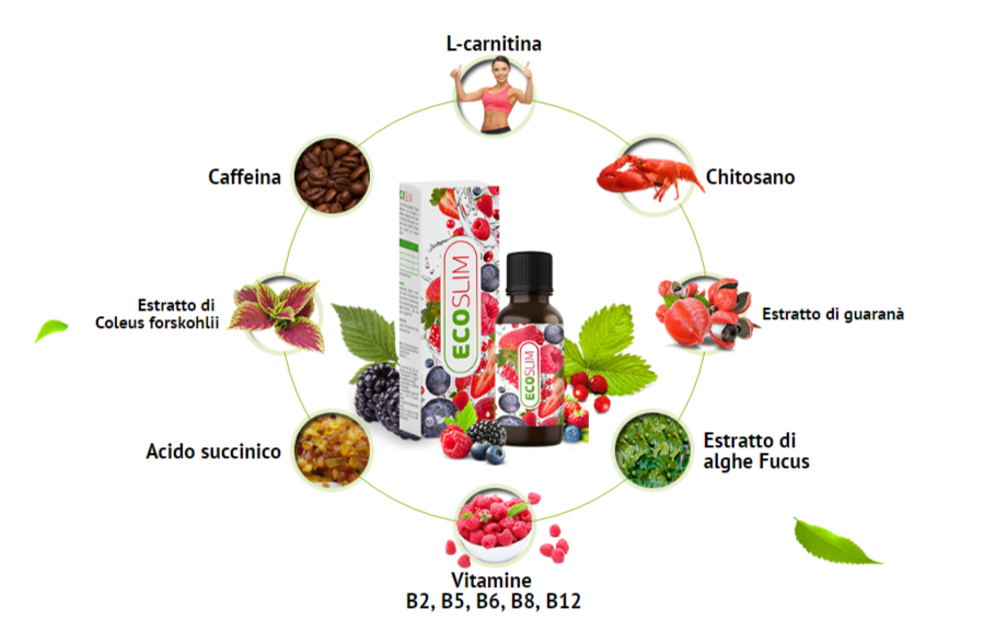 eco slim ingredienti