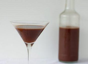 liquore al cioccolato senza latte