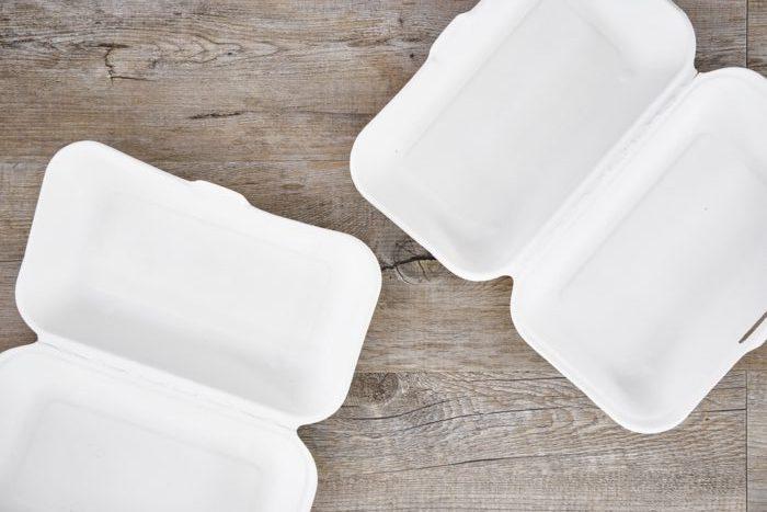contenitori polistirolo cibo