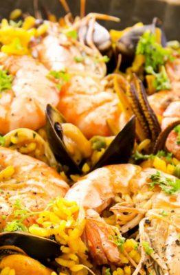 ricetta originale paella