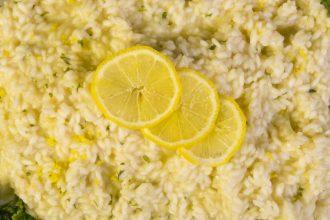 risotto zenzero e limone