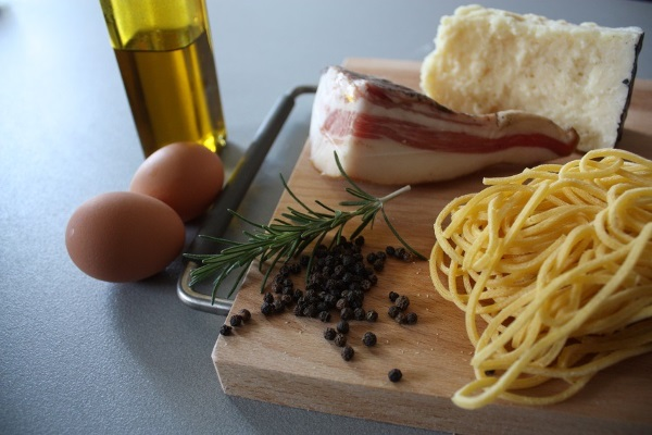pasta alla carbonara ingredienti