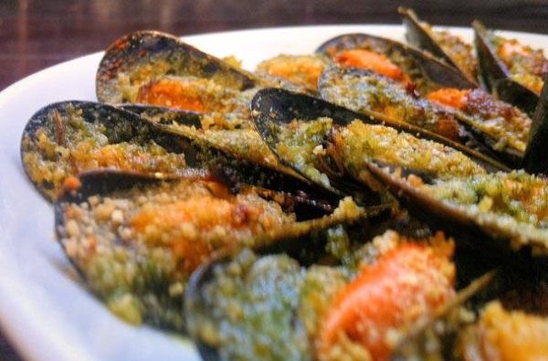 cozze gratinate ricetta
