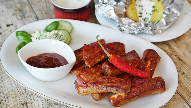 salsa barbecue per griglia costine